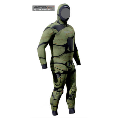 Moray Camo Commando Wetsuit Available At Blenheim Dive Centre