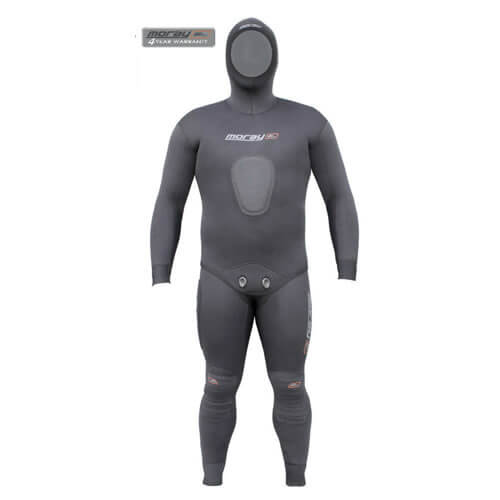 Moray Commando Black 5mm Wetsuit Available At Blenheim Dive Centre