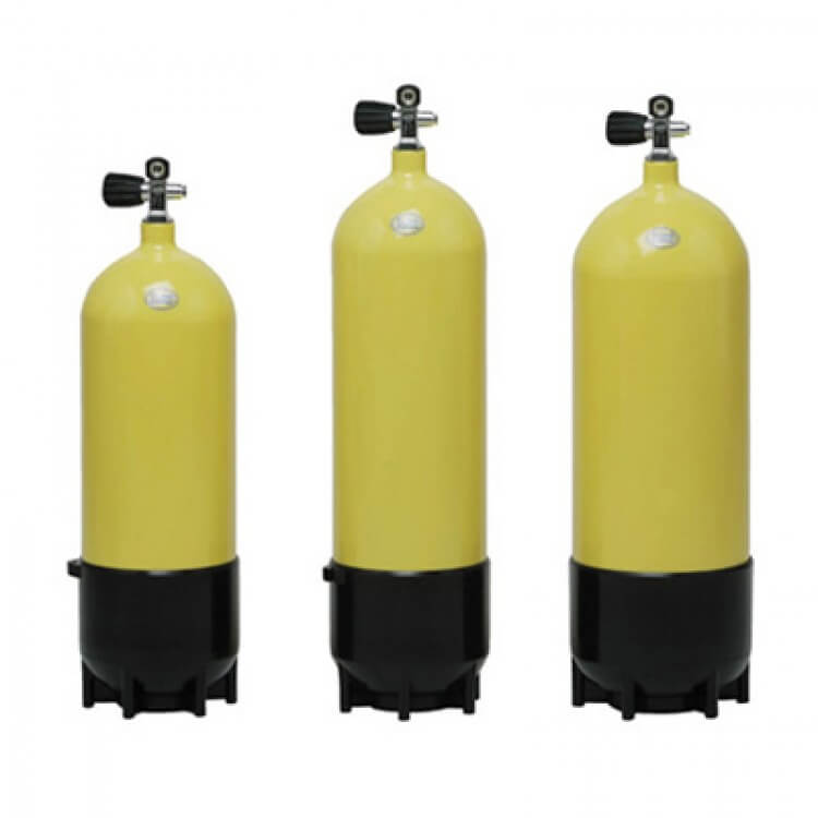 Faber Steel Scuba Cylinders Available At Blenheim Dive Centre