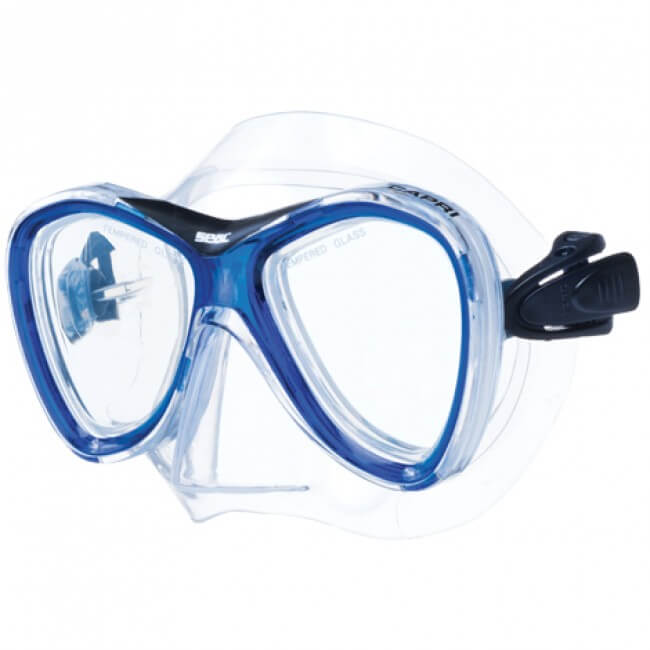 Seac Capri Md Junior Mask Available At Blenheim Dive Centre