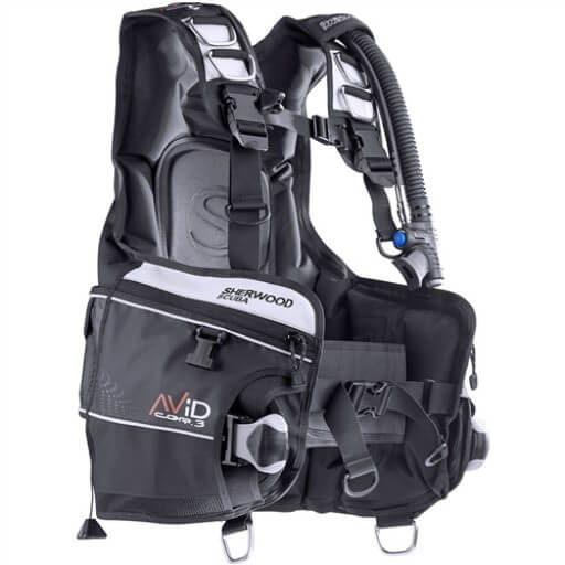 Sherwood Avid Bcd Available At Blenheim Dive Centre