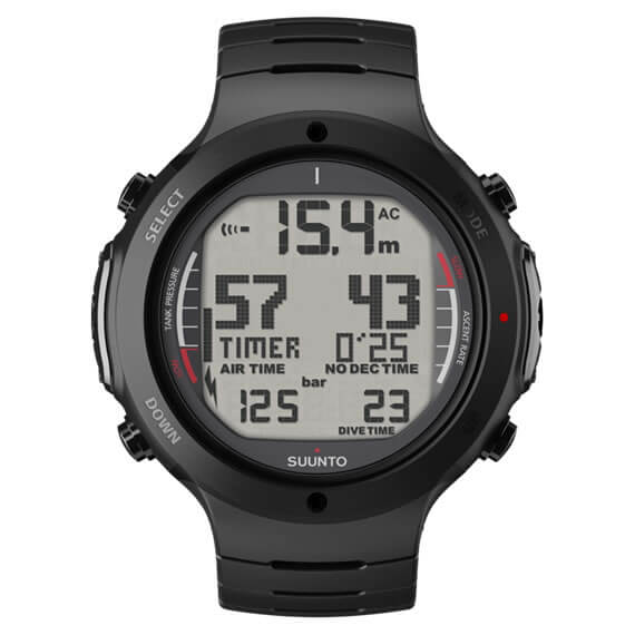 Suunto D6i Dive Computer Steel Available At Blenheim Dive Centre